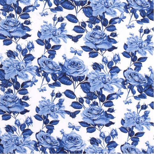 Úplet - růže modré