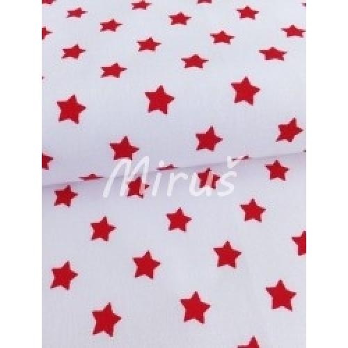 č.1488 Hvězdička červené na bílé