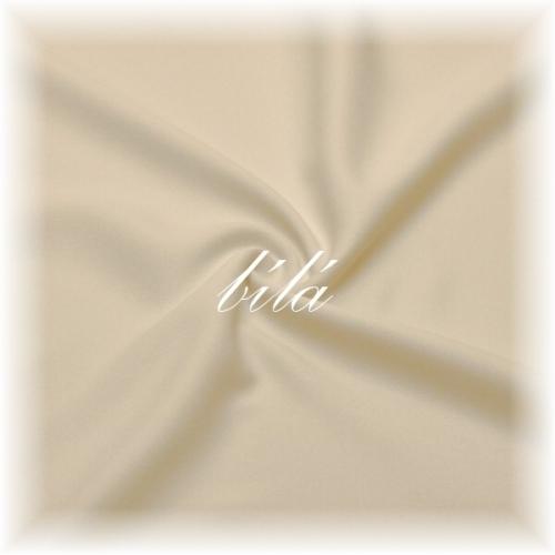 (10m) Bílá látka č.43   AKCE