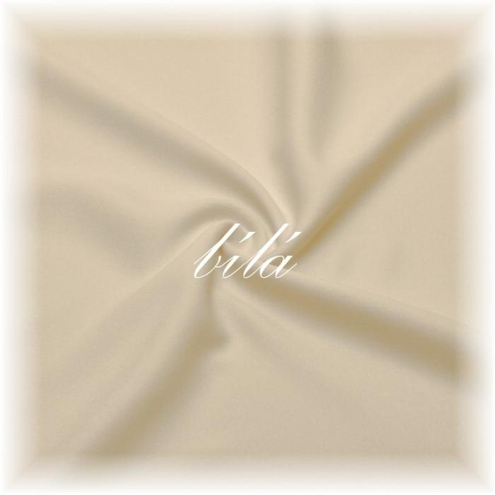 (10m) Bílá látka č.43