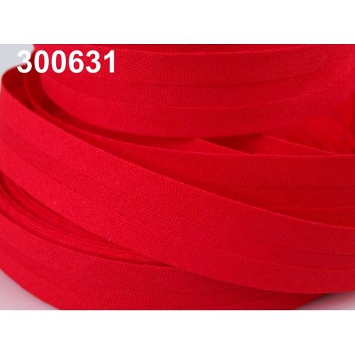 Šikmý proužek červený 14mm