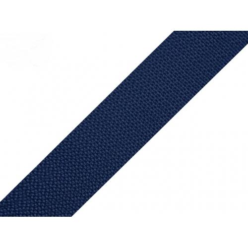 Popruh tm.modrý (25mm)