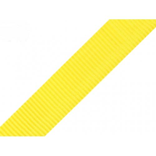 Popruh-Žlutý (24mm)