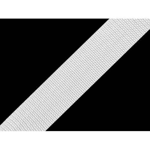 Popruh bílý (30mm)