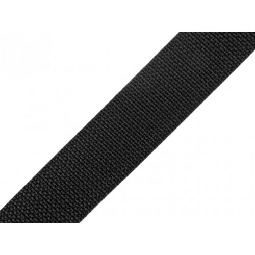 Popruh ČERNÝ (30mm)