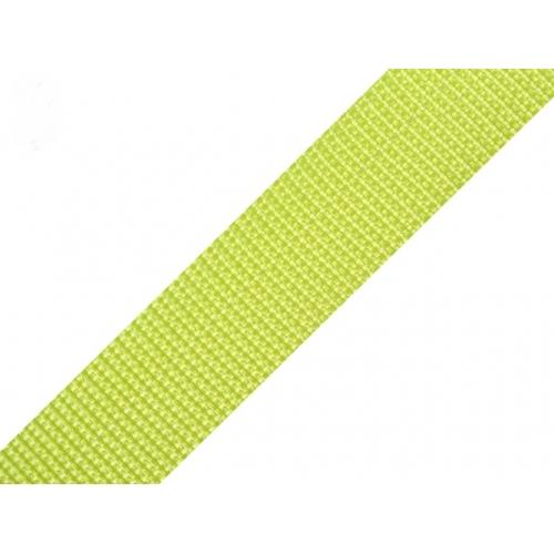 Popruh - jarní zelená (30mm)