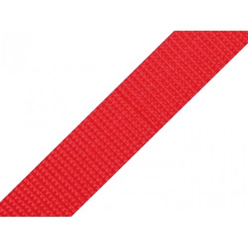 Popruh červený (24mm)