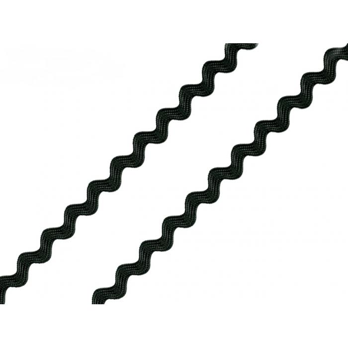 Hadovka 4mm-černá