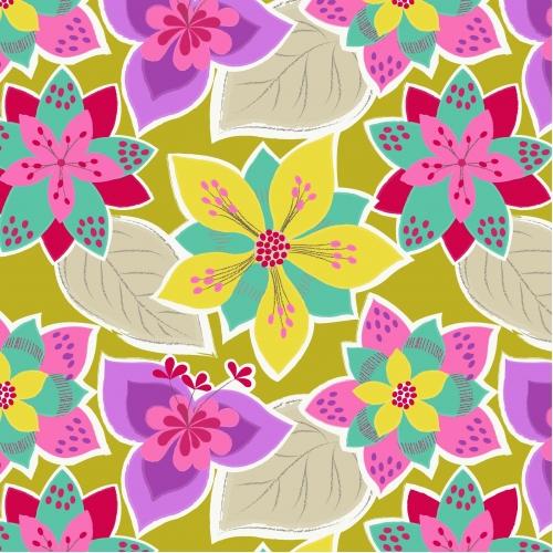 č.2936 Flowers Rumba