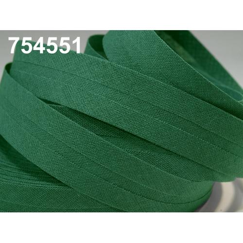 Šikmý proužek- tm. zelená
