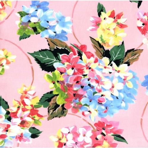 č.737 Květy na růžové