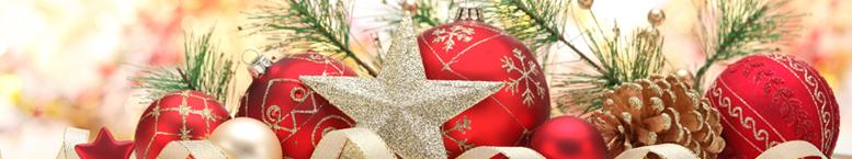 Látky - Vánoční vzory