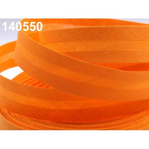 Šikmý proužek-oranžový