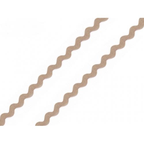 Hadovka 4mm-kávová