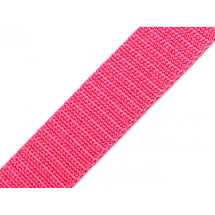 Popruh- pink lemonade (25mm)